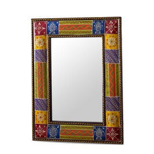 Hand Painted Wooden Mirrors