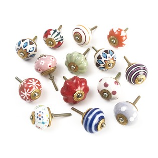 Vintage Ceramic Knobs