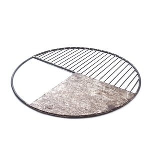 Iron Half Grill with Sheet