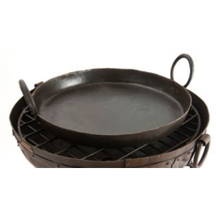 Recycled Fire Bowl Package with Paella Pan