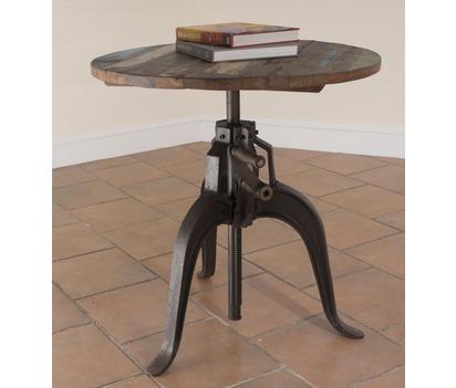 Iron Crank Table