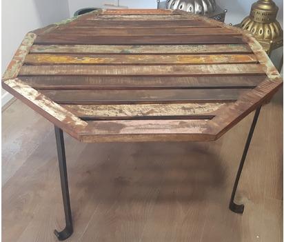 Wooden Octagonal Top