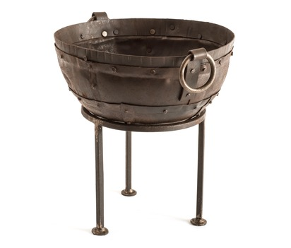 Mini Recycled Fire Bowl 30cm