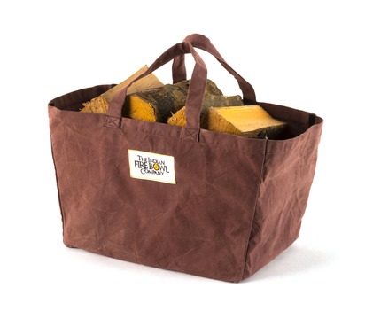 Canvas Log Carrier Bag