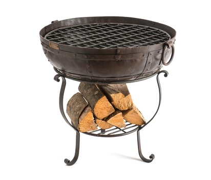 Recycled Fire Bowl Bundle with Free Logs